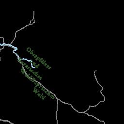 waldgebiete in deutschland nach größe