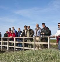 Komitee zur Ortsbesichtigung im Nationalpark SH Wattenmeer_M. Stock NLPV SH