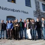 Komitee bei der Bereisung des AlpenNationalparks Berchtesgaden_Quelle NLPV Berchtesgaden