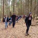 Natur erleben beim Einführungsseminar für das Praktikum für die Umwelt 2012 im Nationalpark Bayerischer Wald