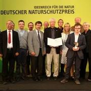 Projektpartner bei Verleihung des Deutschen Naturschutzpreises © Deutscher Naturschutzpreis
