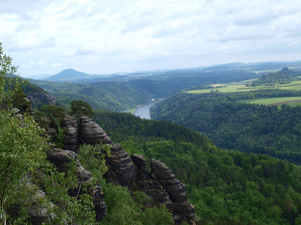 Blick über die Sächsische Schweiz – EUROPARC Deutschland e.V.