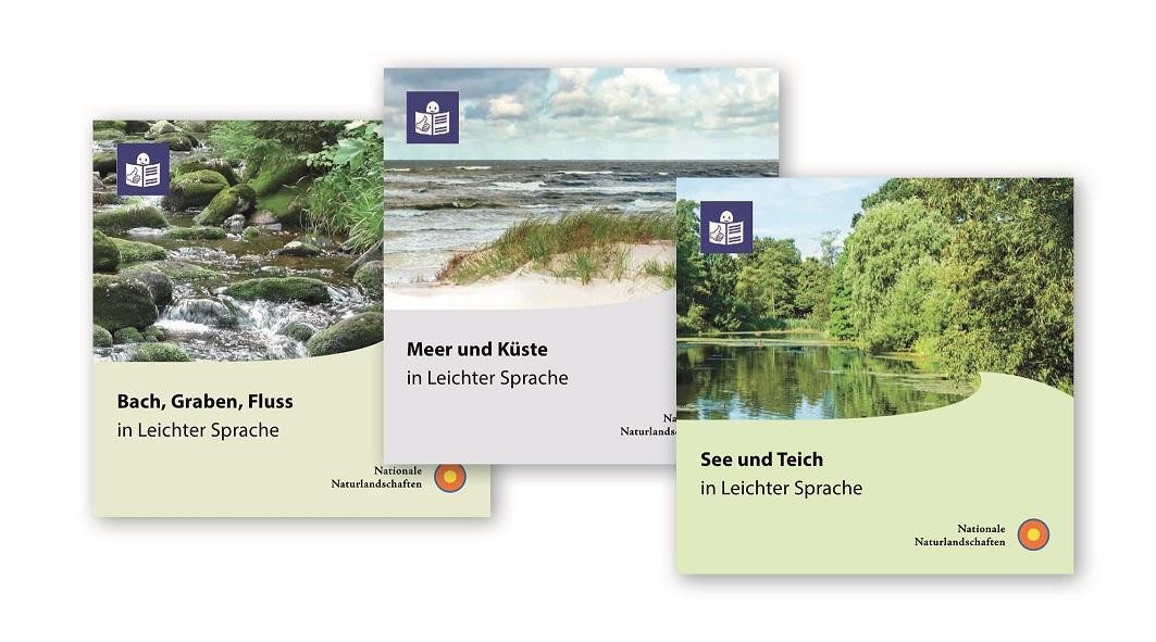 Themenhefte in Leichter Sprache © EUROPARC Deutschland