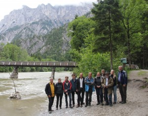 Das Evaluierungsteam im Nationalpark Hohe Tauern Bildautorin: K. Fettweis