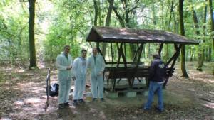 Arbeitseinsatz an der Alten Elbe Klieken - Foto: Bernd Eichhorn
