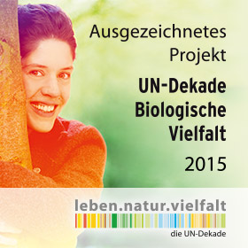 Banner UN-Dekade Biologische Vielfalt 2015