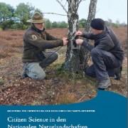 Broschüre Citizen Science in den Nationalen Naturlandschaften