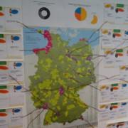 Karte mit Beispielen