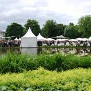 Pavillions im Schlossgarten des Bundespräsidenten