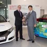 Honda Fahrzeugübergabe an Biosphärenreservate_17-05-2013