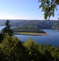 Nationalpark Eifel, Ausblick von der Hirschley. (c) S. Montag