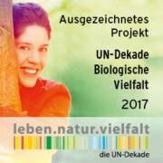 Logo UN-Dekade Biologische Vielfalt 201