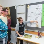 Wie Biosphärenreservate Lebensort für junge Menschen bleiben können, steht im Fokus von präsentierten Projektideen der Teilnehmenden (Foto: Anand Anders)